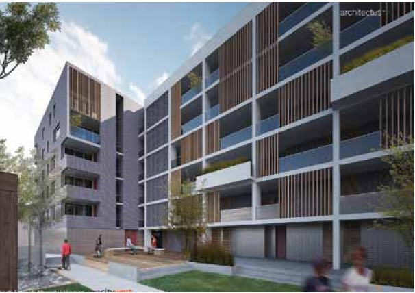 City West Affordable Housing planned for North Eveleigh