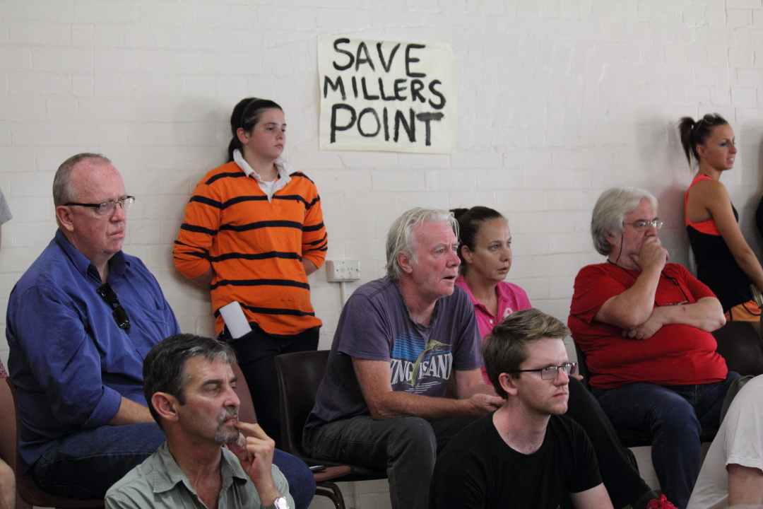 Millers Point Meeting 22 March 2014