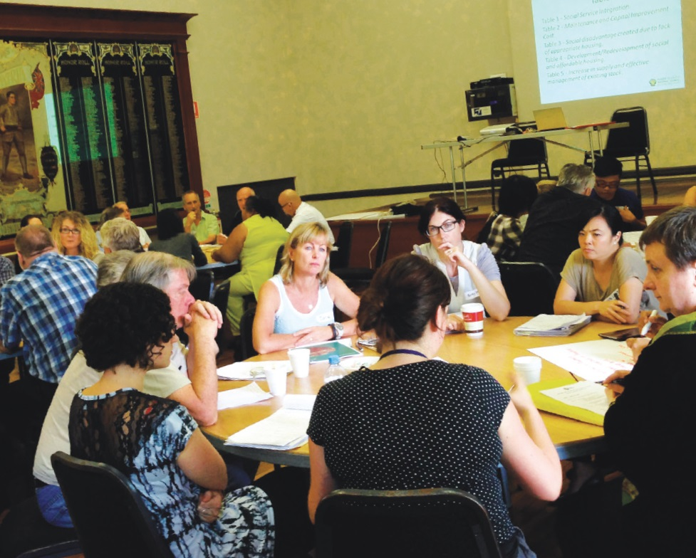 ISRCSD consultation for Inquiry into Social Public and Affordable Housing