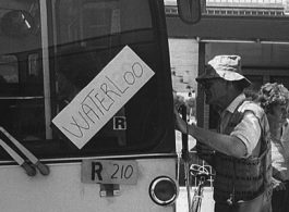 From the archives: Waterloo bus stop